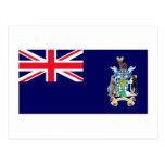 South Georgia & the South Sandwich Islands Flag Postcards