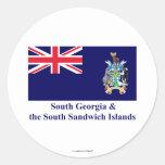 South Georgia & the South Sandwich Islands Flag Sticker