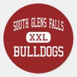 South Glens Falls - Bulldogs - South Glens Falls Classic Round Sticker