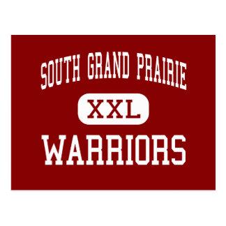 South Grand Prairie - Warriors - Grand Prairie Postcard