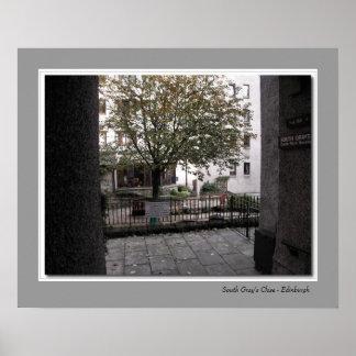 South Gray's Close - Edinburgh Poster