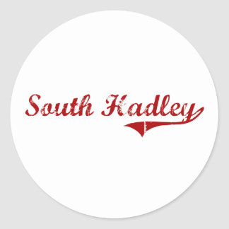 South Hadley Massachusetts Classic Design Sticker