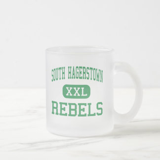 South Hagerstown - Rebels - High - Hagerstown Coffee Mugs