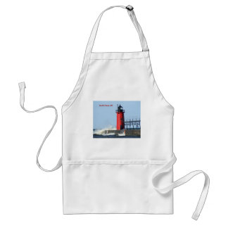 South Haven Lighthouse Adult Apron