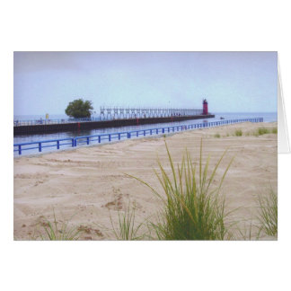 South Haven Lighthouse Card