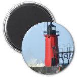 South Haven Lighthouse Fridge Magnet