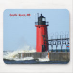 South Haven Lighthouse Mouse Mat