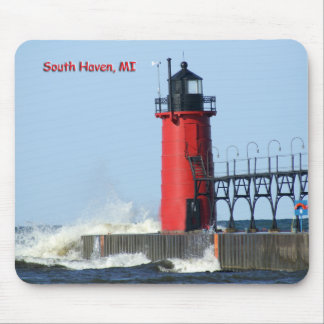 South Haven Lighthouse Mouse Pad