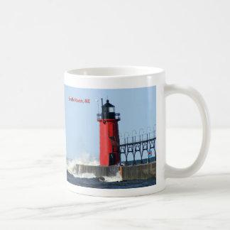 South Haven Lighthouse Classic White Coffee Mug