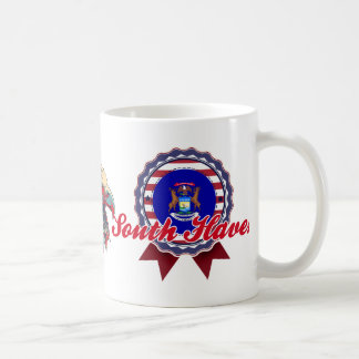 South Haven, MI Classic White Coffee Mug