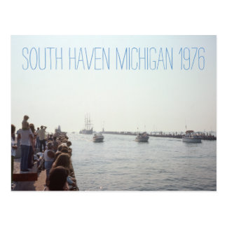South Haven Michigan 1976 Postcard