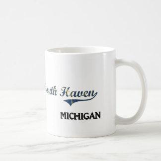 South Haven Michigan City Classic Classic White Coffee Mug