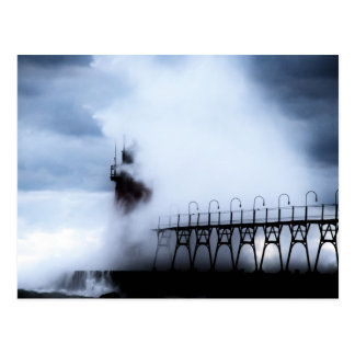 South Haven Michigan Lighthouse Postcard