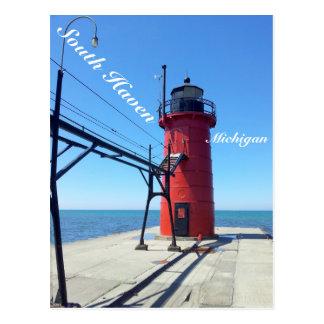 South Haven Michigan Postcard