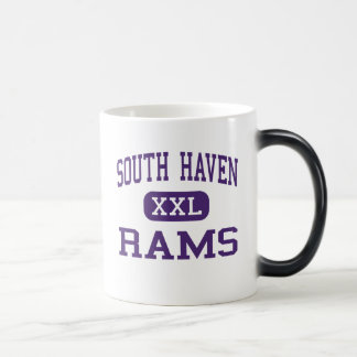 South Haven - Rams - High - South Haven Michigan 11 Oz Magic Heat Color-Changing Coffee Mug