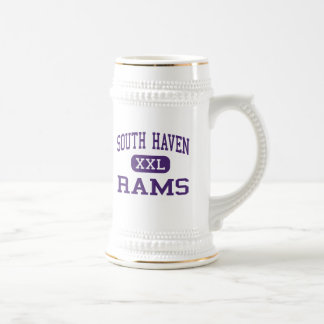 South Haven - Rams - High - South Haven Michigan 18 Oz Beer Stein