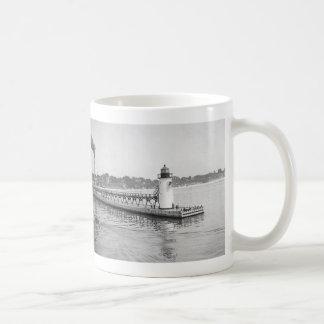 South Haven South Pierhead Lighthouse Classic White Coffee Mug