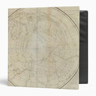South Hemisphere 3 Ring Binder
