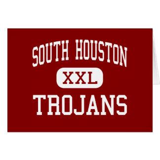South Houston - Trojans - High - South Houston Greeting Card