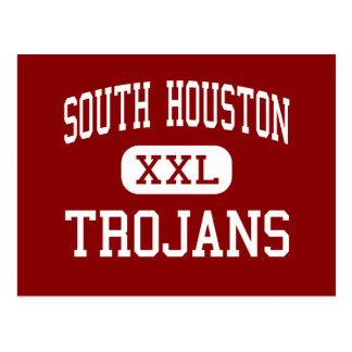 South Houston - Trojans - High - South Houston Postcard