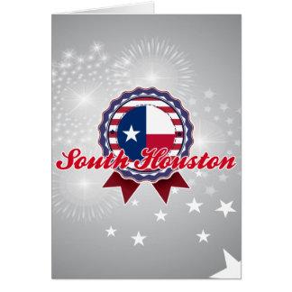South Houston, TX Greeting Card