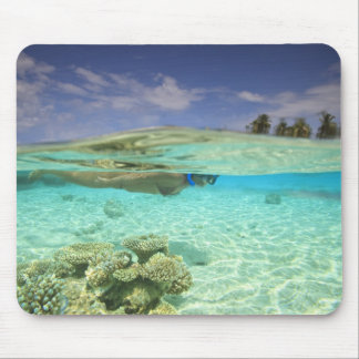 South Huvadhoo Atoll, Southern Maldives, Indian Mouse Pad