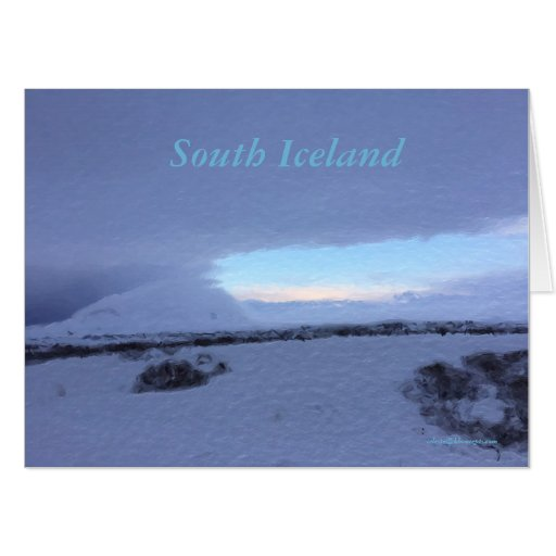 South Iceland Landscape Card