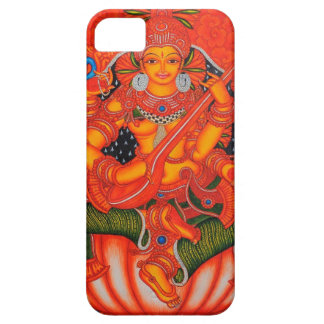 SOUTH INDIAN TANJORE SARASWATI PAINTING iPhone SE/5/5s CASE