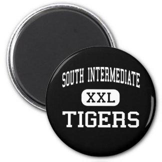 South Intermediate - Tigers - High - Broken Arrow Refrigerator Magnets