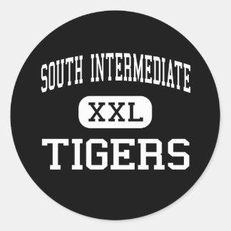 South Intermediate - Tigers - High - Broken Arrow Stickers