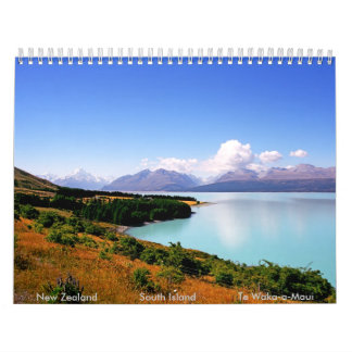South Island Calendar