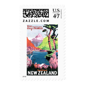 South Island New Zealand Postage