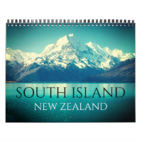 south island nz 2021 calendar