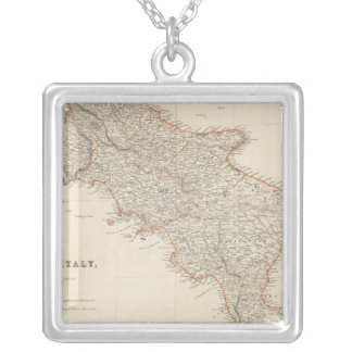 South Italy with The Maltese Islands Silver Plated Necklace