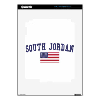 South Jordan US Flag Decals For The iPad 2