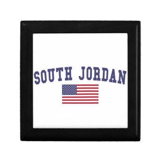 South Jordan US Flag Jewelry Box