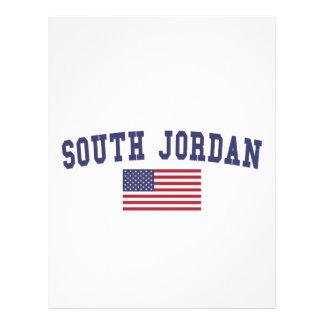 South Jordan US Flag Letterhead