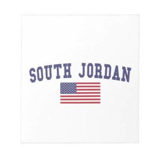 South Jordan US Flag Notepad