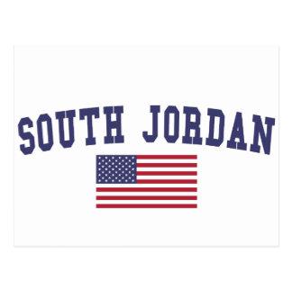 South Jordan US Flag Postcard