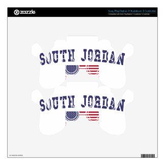 South Jordan US Flag Skin For PS3 Controller