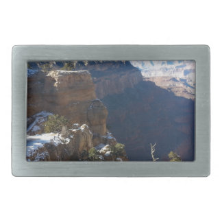 South Kiabab Grand Canyon National Park Mule Ride Rectangular Belt Buckle