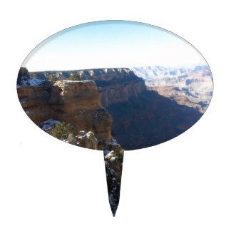 South Kiabab Grand Canyon National Park Mule Ride Cake Toppers
