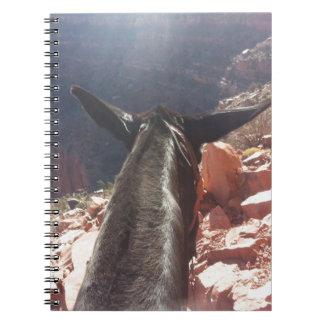 South Kiabab Grand Canyon National Park Mule Ride Notebook