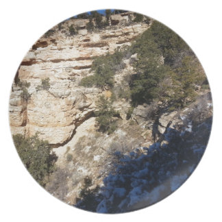 South Kiabab Grand Canyon National Park Mule Ride Dinner Plates