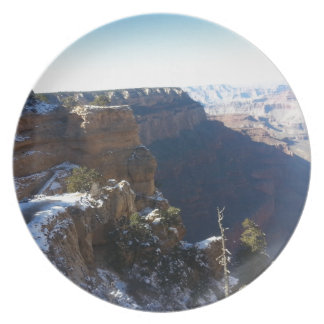 South Kiabab Grand Canyon National Park Mule Ride Dinner Plate