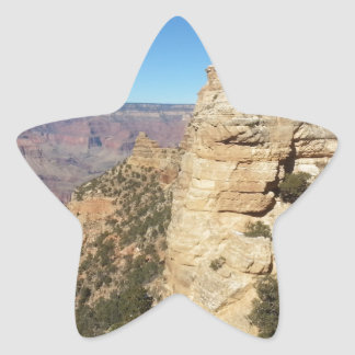 South Kiabab Grand Canyon National Park Mule Ride Star Sticker