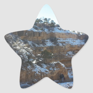 South Kiabab Grand Canyon National Park Mule Ride Star Sticker