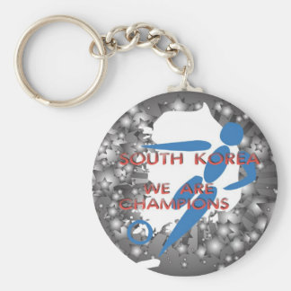 South Korea 2010 Keychain