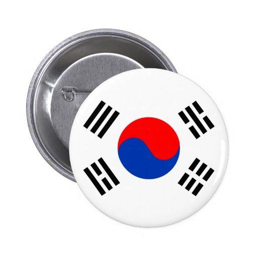 South Korea 2 Inch Round Button