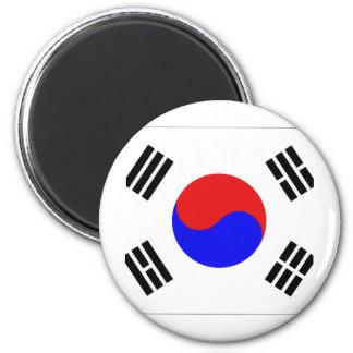 South Korea 2 Inch Round Magnet